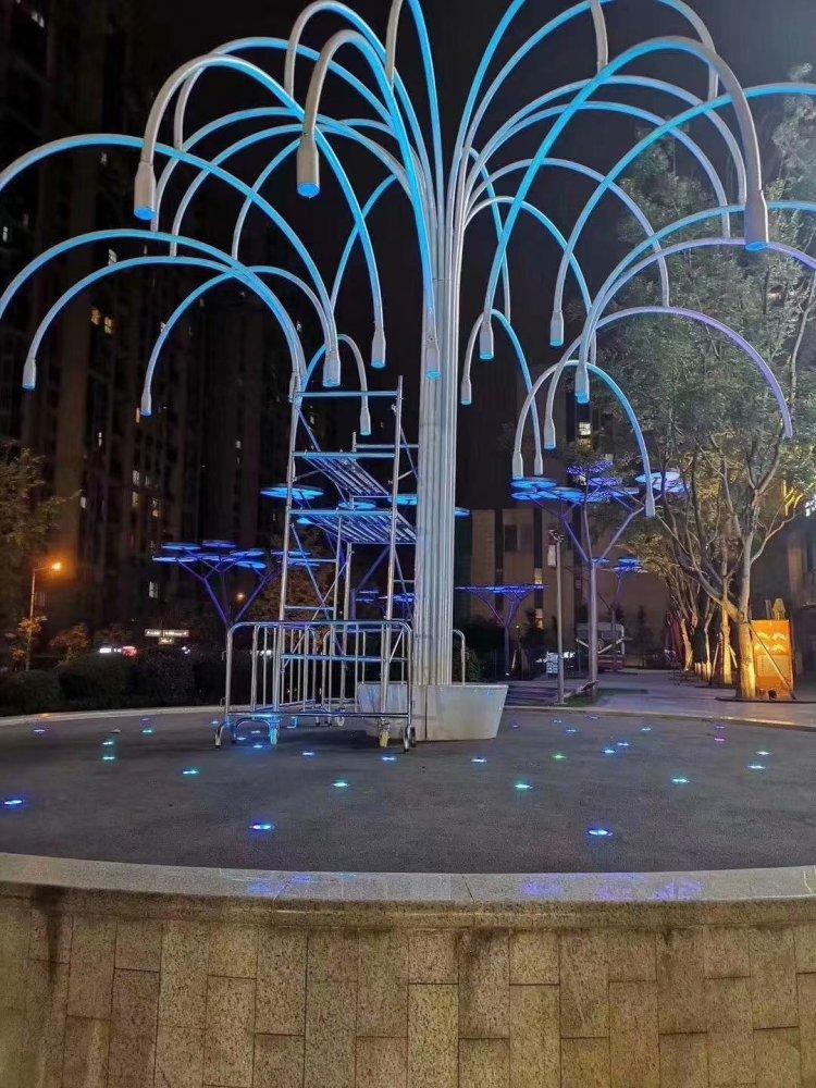 大型许愿灯树制作、丰圣文化传媒、保定市树