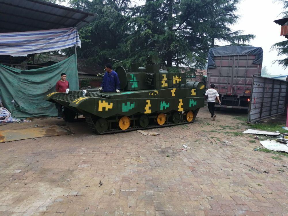 十一国庆节河南田鸣生产各种大型军事模型定制坦克模型厂家