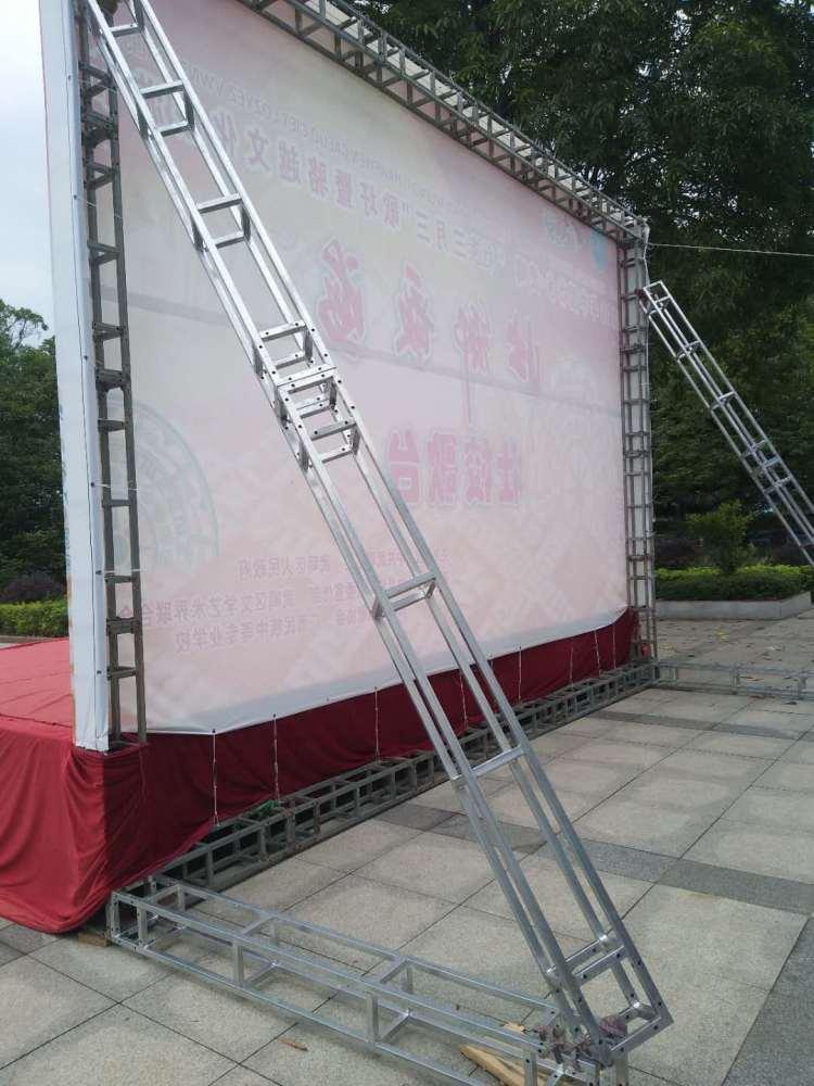 南宁桁架舞台背景厂家、舞台背景、合诚展览工厂物料