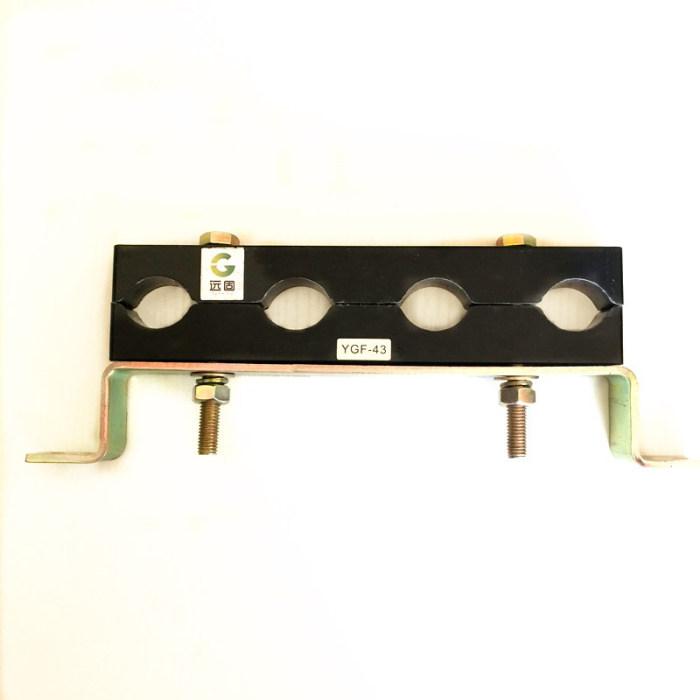五孔电缆线夹图片、北京电缆线夹、快速固定电缆夹具生产