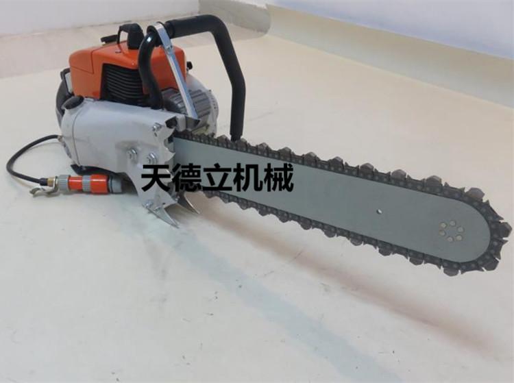 SSQ汽油金刚石链锯 切水泥切混凝土 切墙切楼板切大理石链条油锯