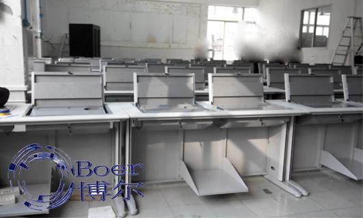 广州博奥(图)、学生翻转电脑桌、哈尔滨翻转电脑桌