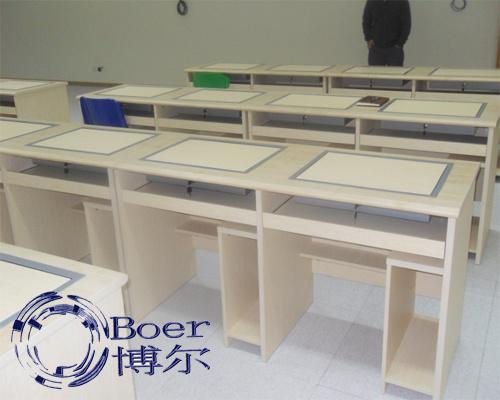广州博奥(图)、钢制翻转电脑桌、安徽电脑桌