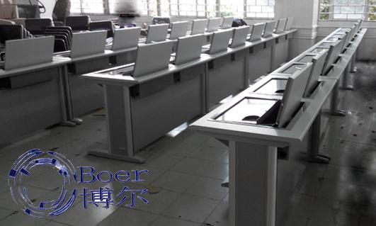 西藏学生电脑桌、翻板式学生电脑桌、广州博奥(优质商家)