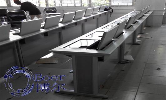 广东电脑桌、显示屏翻转电脑桌、广州博奥(优质商家)