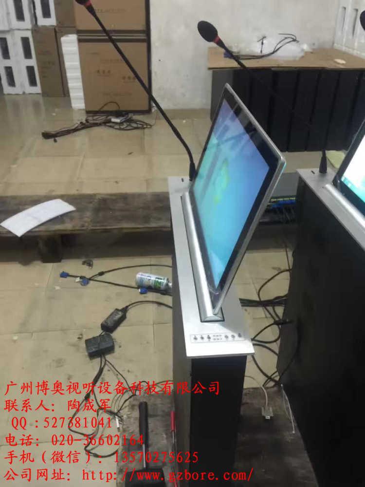 会议桌显示器升降机、长沙显示器升降机、广州博奥