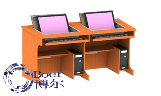 广州博奥(图)、翻板式学生电脑桌、江西学生电脑桌