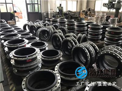 上海淞江集团(图)|冷镀锌法兰橡胶接头|橡胶接头