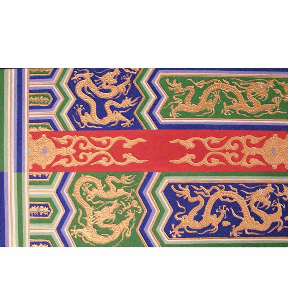 古建筑彩绘寺庙彩绘油漆彩绘技术培训