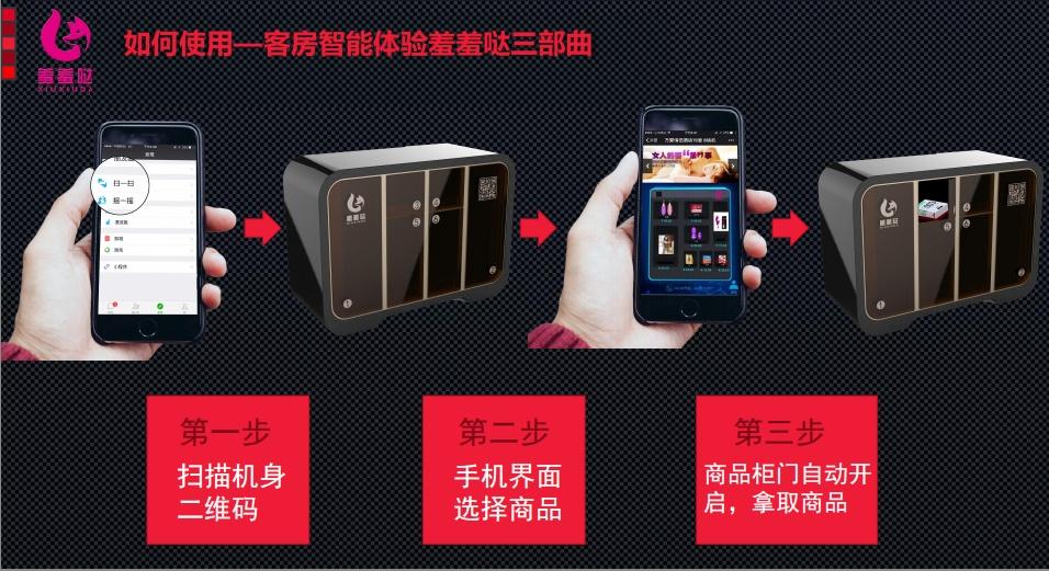桂林市小型售货机、羞羞哒客房小型售货机、小型售货机哪家好