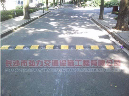 道路减速拱缓冲带减速坡批发