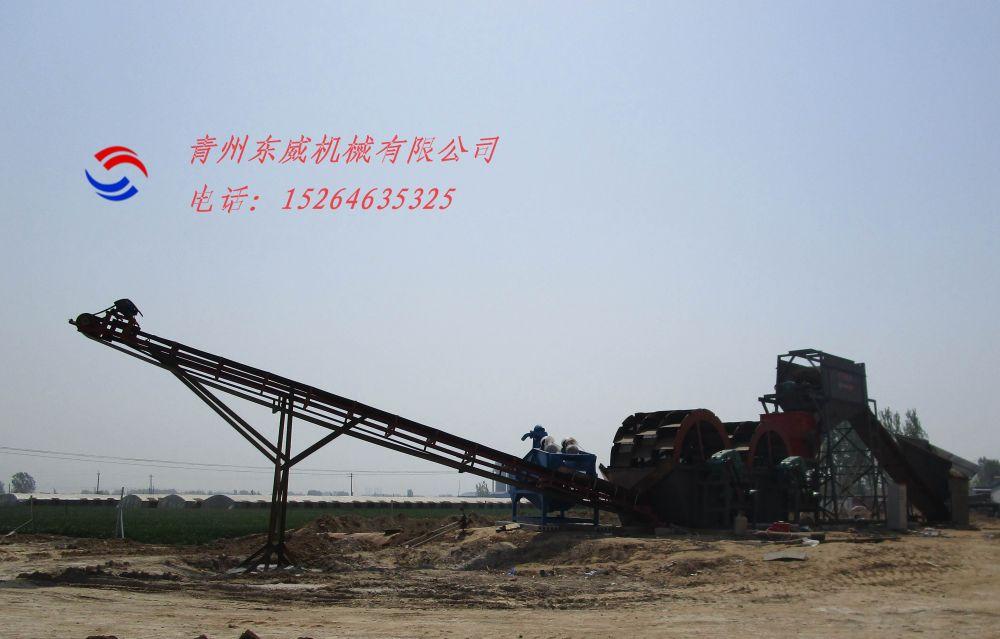 筛洗破碎一体洗沙机_青州东威机械有限公司_普洱市洗沙机