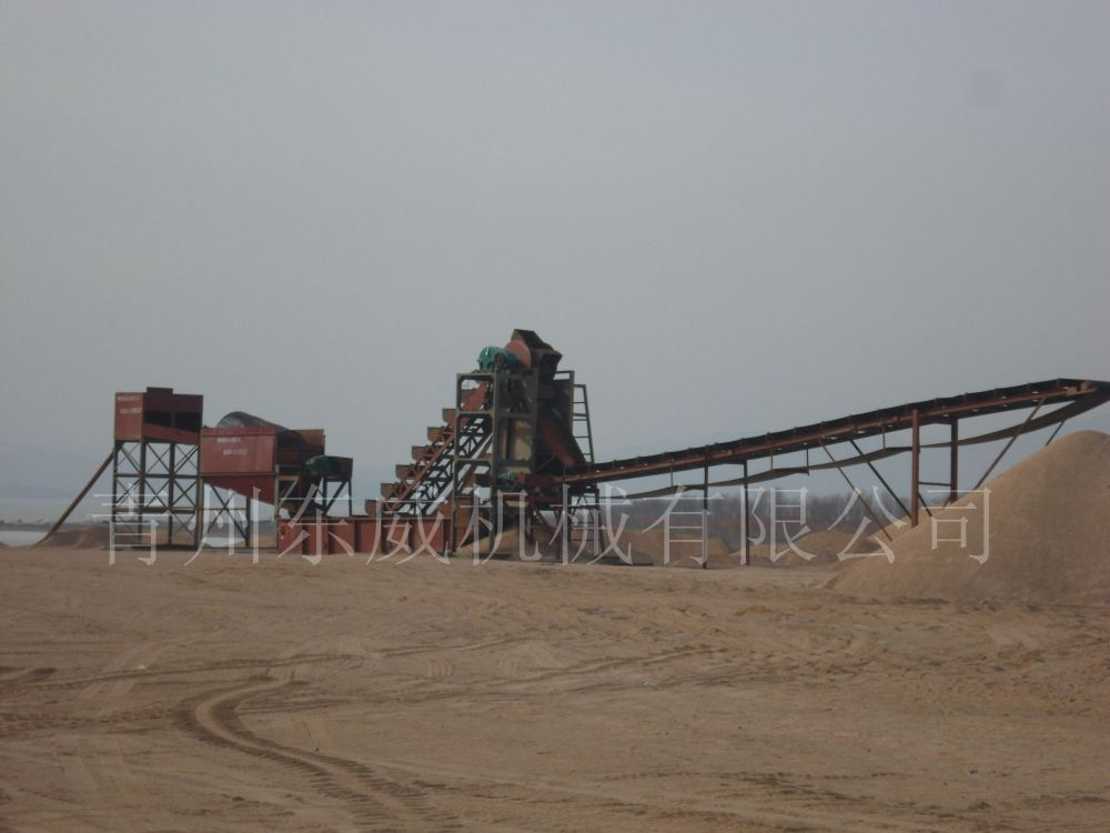 青州东威机械有限公司(图) 挖斗式洗沙机 郴州市洗沙机