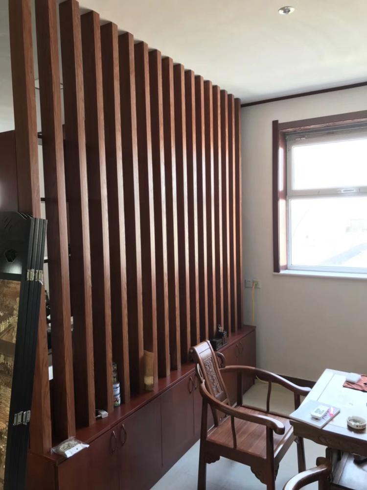 生态木方通吊顶效果图、南通市方通、临沂鸿源装饰建材(查看)