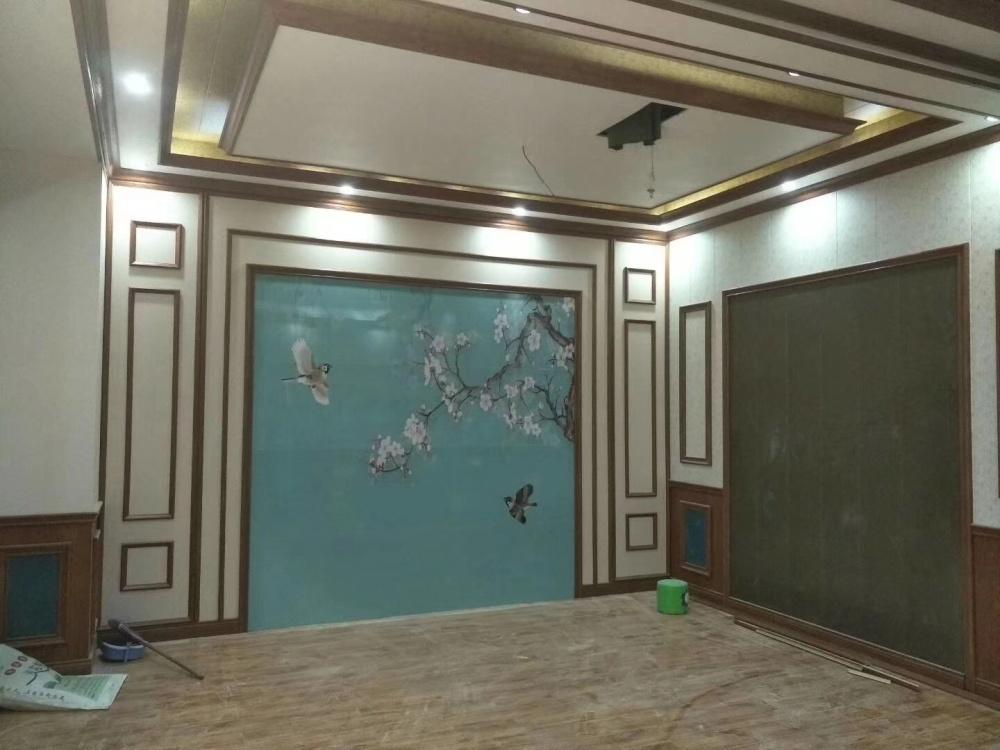 护墙板效果图、临沂鸿源装饰建材(在线咨询)、大庆市护墙板