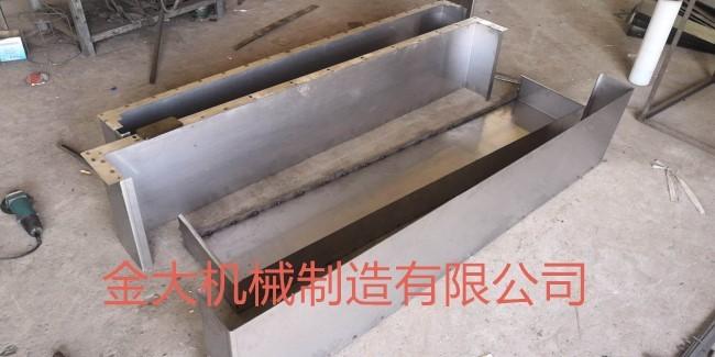 庆阳市钢板防护罩_盐山金大机械公司_加工中心钢板防护罩