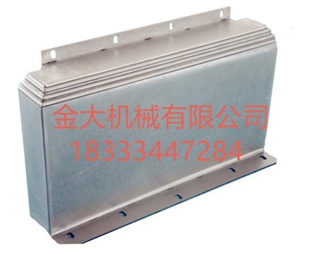 陇南市钢板防护罩_盐山金大机械公司_伸缩钢板防护罩设计