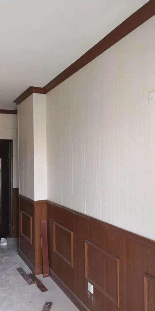 竹木纤维墙板效果图、步威木业、红桥区竹木纤维墙板