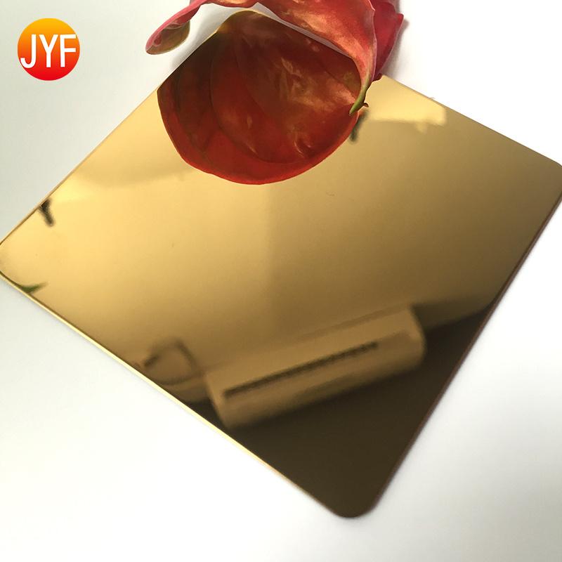 佛山厂家供应304不锈钢镜面装饰板定制