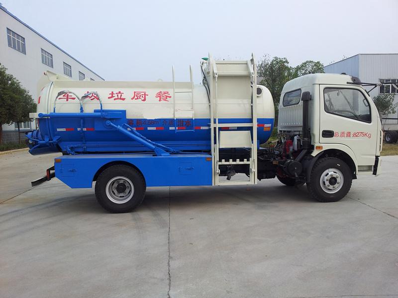 湖北润力(图)、餐厨垃圾车品牌、鄂州市餐厨垃圾车