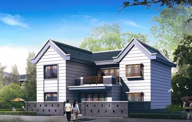 轻钢别墅设计图、和荣企业(在线咨询)、贵阳轻钢别墅