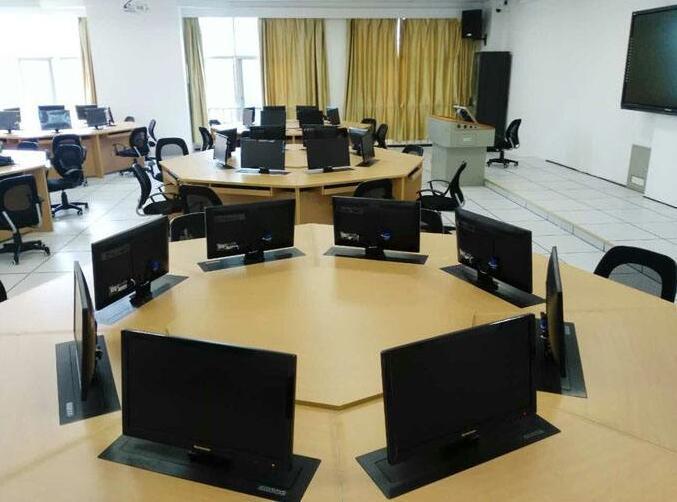 实木触摸屏电脑桌、莆田市触摸屏电脑桌、博奥11年老牌