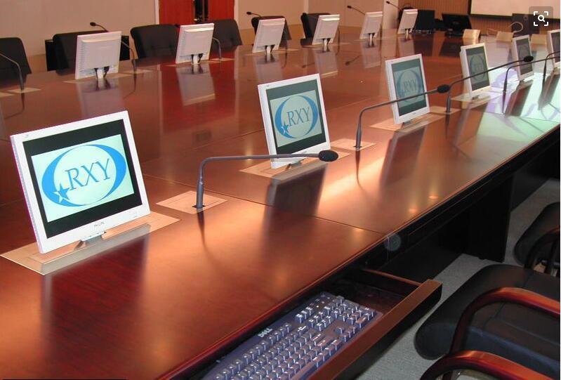 無紙化會議桌定做、防城港市無紙化會議桌、博奧無紙化會議桌