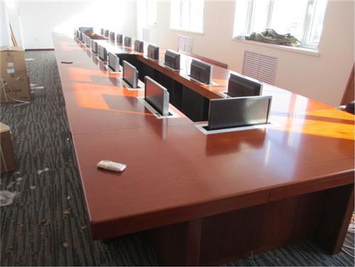視頻無紙化會議桌、11年老牌會議桌、昆明市無紙化會議桌