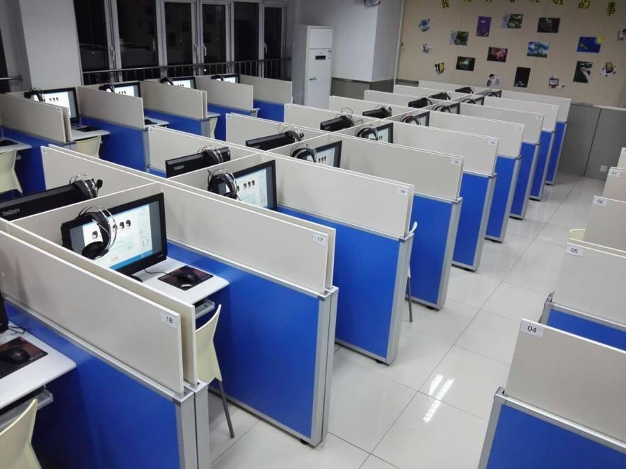 考试专用桌定做、长沙市考试专用桌、屏风升降考试桌