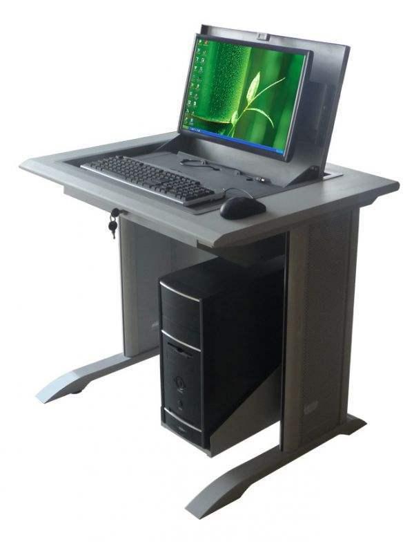 白银市嵌入式电脑桌、博奥11年老牌、嵌入式电脑桌定做