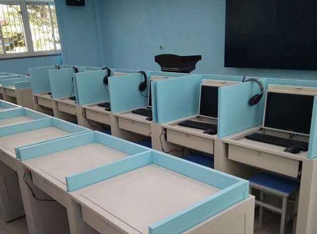 考试专用桌厂家、屏风升降考试桌、阳泉市考试专用桌