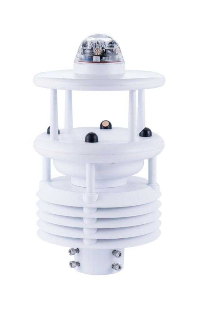 HCD6817七要素微气象仪(温湿压+风速风向+雨量+光照度)