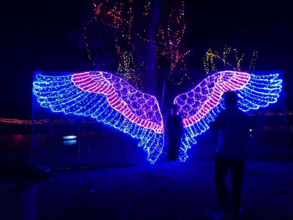 吐鲁番地区灯光展制作道路亮化