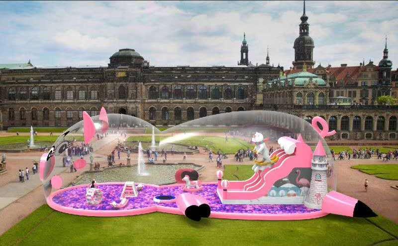 粉色水上乐园价格、粉色水上冲关出租、通化市粉色水上乐园