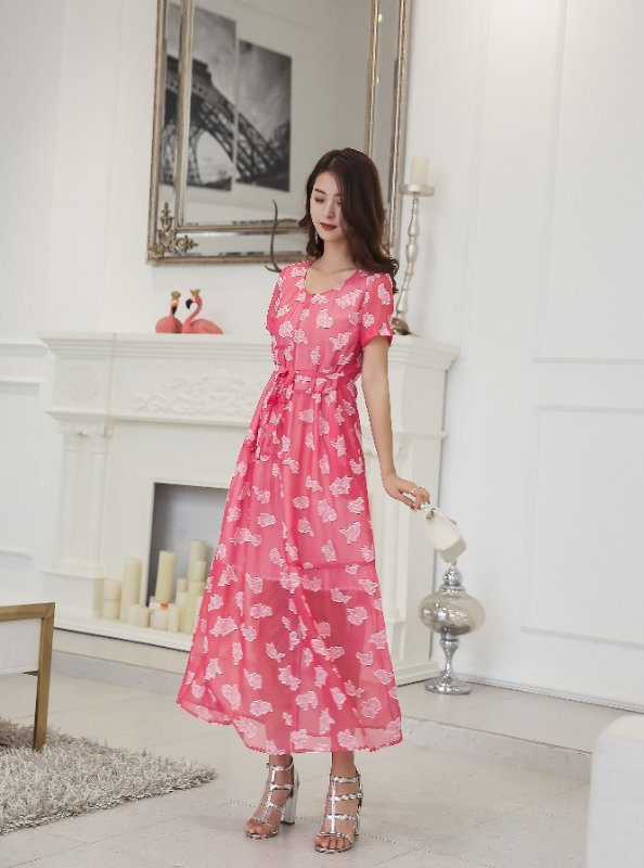 广州品牌折扣女装第五朵19年新款夏装货源
