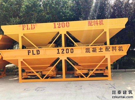 黄石PLD1200混凝土配料机有哪些注意事项