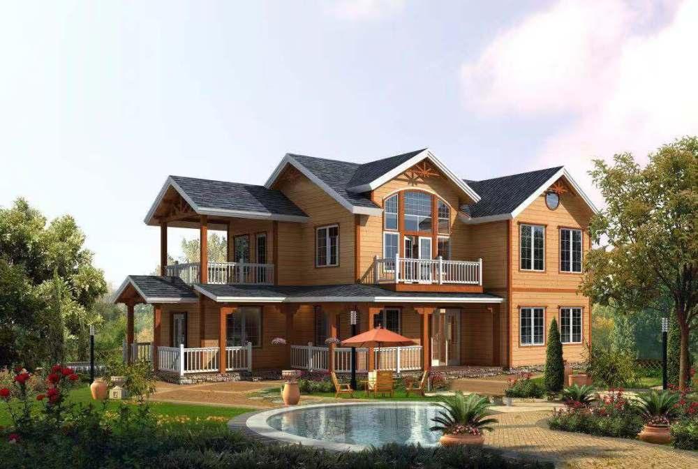 简易木屋屋顶构造、木屋、无极木屋