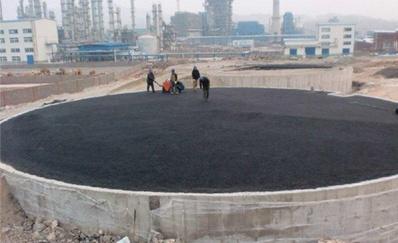 江西萍乡罐底防腐沥青砂的垫层强度检验结果