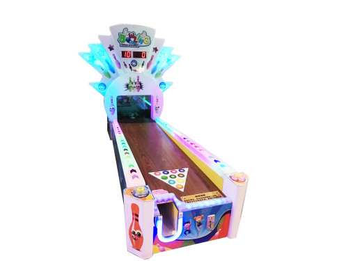 动漫游戏机快乐保龄球投币游戏机自助彩票机电玩设备成人扭蛋机抓娃娃机