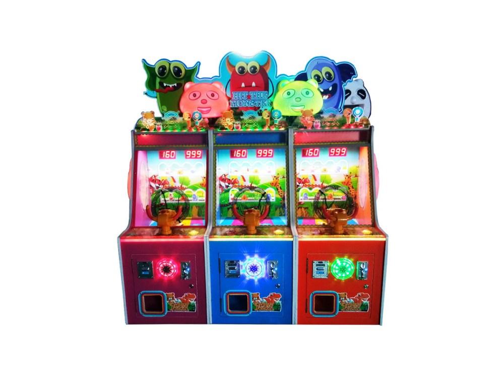 炮打游戏弹珠机 扭蛋机 儿童投币器游戏机