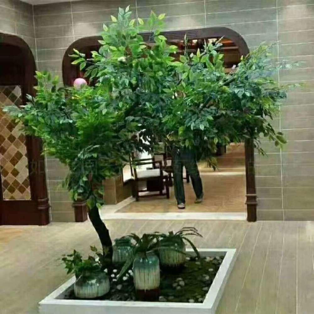仿真樹定做(圖)、仿真榕樹葉的價格、通州區樹