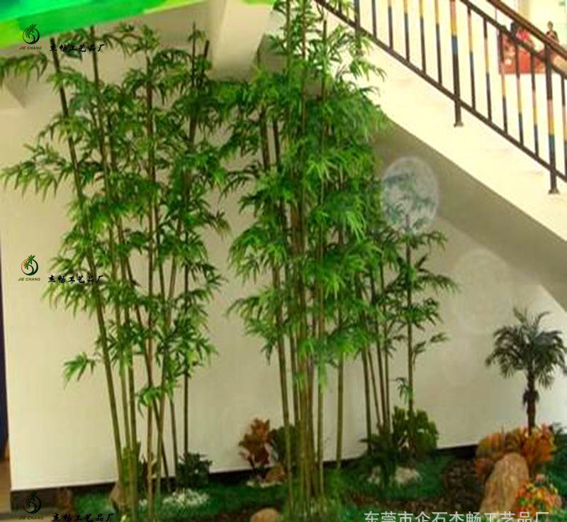 顺义区仿真竹子、诗茵商?#22330;?#20223;真竹子能放室外用吗?