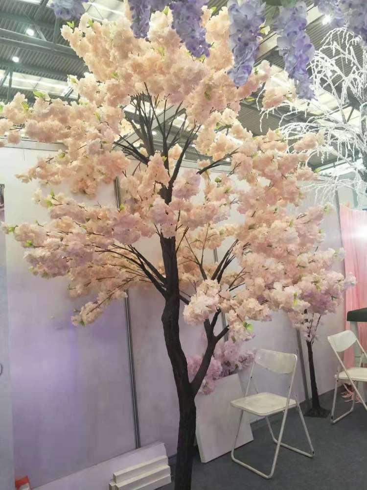 鹿泉市树、仿真樱花树的制作视频、诗茵商贸(优质商家)