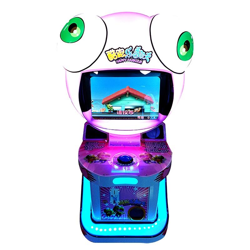 快跑僵尸 儿童游戏机 商用投币设备 商场内娱乐机器 退礼品游戏单人