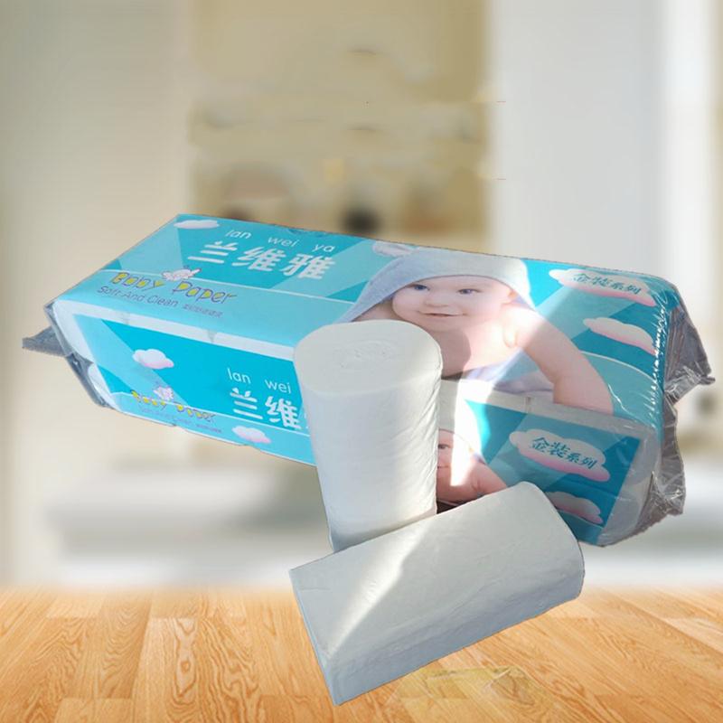 甘肃卷纸厂家贴牌生产不漂白卫生纸原浆纸家用厕纸家庭用纸餐巾纸