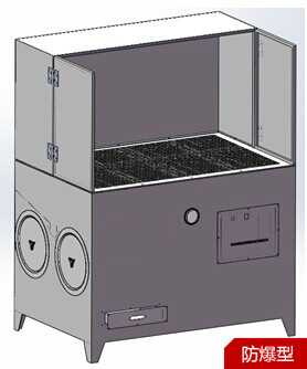 打磨台、打磨台除尘器图、明成环保公司(优质商家)