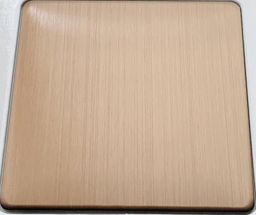 供应佛山彩色不锈钢发纹板- 发纹不锈钢板加工