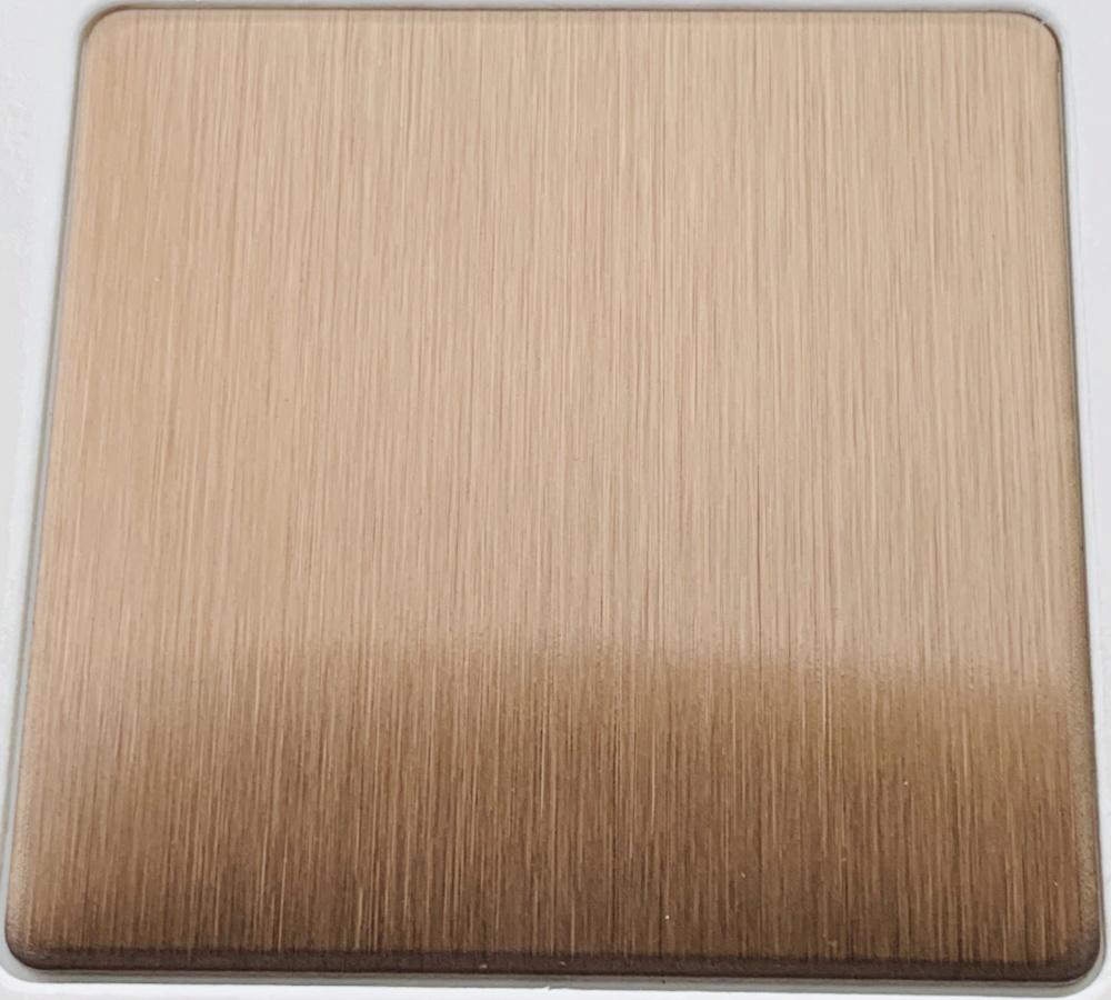 供应佛山彩色不锈钢装饰材料-不锈钢缎纹彩色板加工