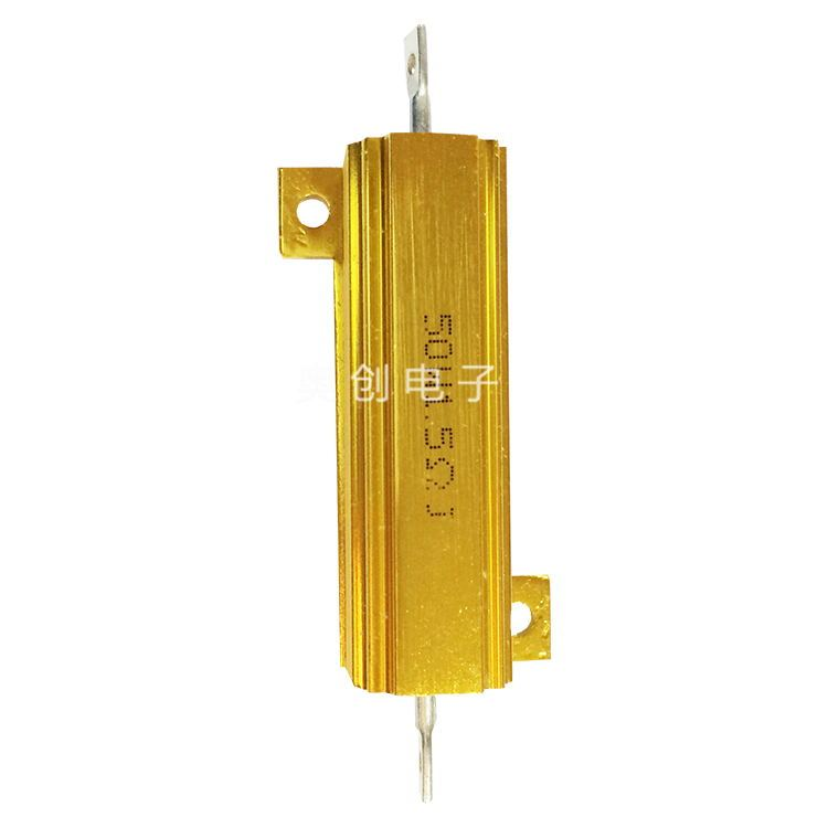 奥创供应高品质黄金铝壳电阻100W4RJ