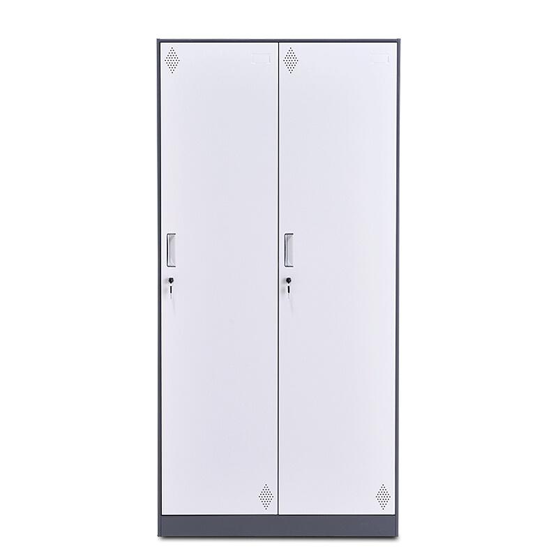 河南友时员工宿舍办公室二门储物更衣柜